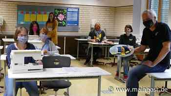 Mellrichstadt: Mittelschüler nähen Masken für ein Hilfsprojekt - Main-Post
