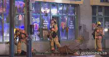 Arson squad investigating restaurant fire in Pointe-aux-Trembles - Globalnews.ca