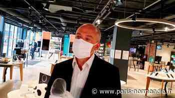 Stéphane Richard, PDG d'Orange, en Normandie pour lancer le déconfinement des boutiques - Paris-Normandie
