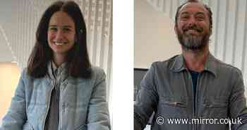 Fantastic Beasts stars Jude Law and Katherine Waterston reunite to volunteer for coronavirus charity - Mirror Online