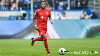 """Bayern-Profi David Alaba nach Geisterspiel-Probe in der Allianz Arena: """"Alle waren sehr hungrig"""" - Sportbuzzer"""