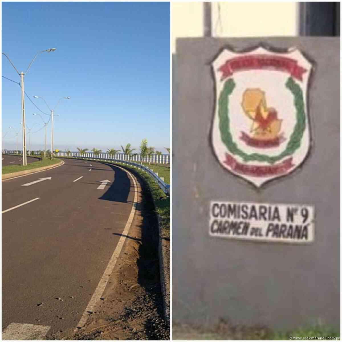Carmen del Paraná: Paseo por la costanera termina con incautación de vehículo - radiomarandu.com.py