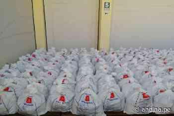 Coronavirus: entregan canastas de víveres para población vulnerable de Ilo - Agencia Andina