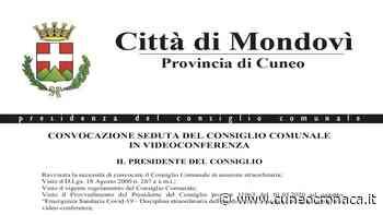 MONDOVI'/ Mercoledì 20 in Consiglio si parla delle misure per la ripartenza economica - Cuneocronaca.it