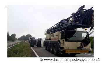 A 64 : un camion se renverse vers Soumoulou, l'autoroute a rouvert - La République des Pyrénées