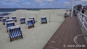 Sylter Küstenschutz: Ufermauer in Westerland wird weiter verstärkt   shz.de - shz.de