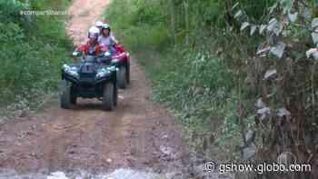 Reveja: Filipe encara aventura de quadriciclo em Guararema - gshow