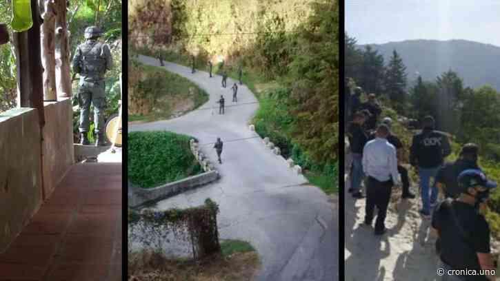 Denuncian allanamientos y robos durante toque de queda en la Colonia Tovar - Crónica Uno