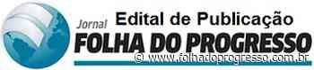 Publicação: 067/2020 – MARILENE NUNES DA SILVA FAZENDA BARRA BONITA II - Jornal Folha do Progresso