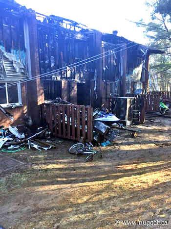 'Life-threatening injuries' in Mattawa fire - The North Bay Nugget