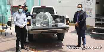 Gobierno municipal de Chimalhuacan entrega capsula XE a Hospital San Agustin - Noticias de Texcoco