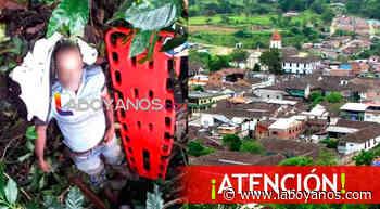 Campesino murió electrocutado en zona rural de San Agustin - Laboyanos.com