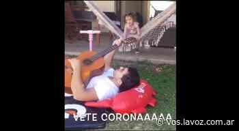 """La nieta de Piñon Fijo """"inventó"""" una canción para el coronavirus y el resultado es desopilante - La Voz del Interior"""