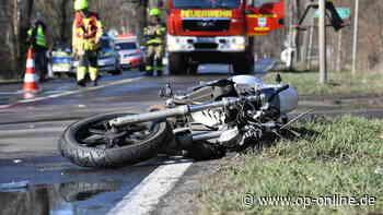 Motorradfahrer übersehen - Mann (29) stirbt bei Unfall im Odenwald - op-online.de