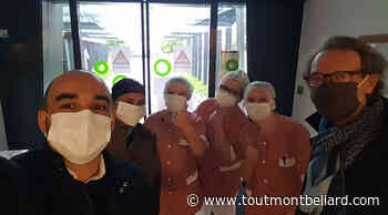 Un restaurant d'Audincourt offre des repas complets au personnel soignant de l'EHPAD - ToutMontbeliard.com