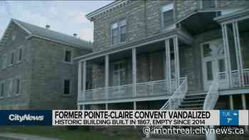 Former Pointe-Claire convent vandalized - CityNews Montreal