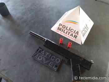 Homem é preso por posse ilegal de arma de fogo em Matozinhos - Tecle Mídia