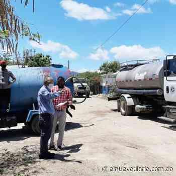 Alcaldía de Las Matas de Farfán y el Inapa inician repartición de agua a sectores vulnerables - El Nuevo Diario (República Dominicana)