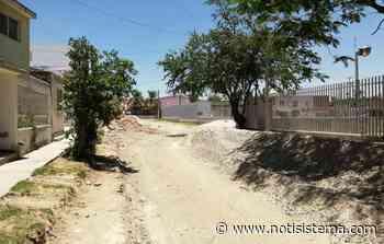 Abandonan proyecto de morgue y dejan calle destruida en Miramar - Notisistema