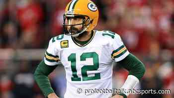 The key question and answer from Aaron Rodgers' conference call