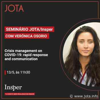 Acompanhe webinar com Veronica Osorio - JOTA Info - JOTA.info