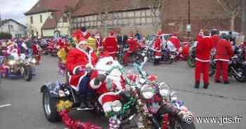 La Tournée des Pères Noël à moto en Alsace 2020, Ensisheim et environs - Journal des spectacles