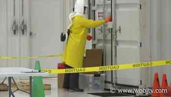 Mask decontamination system running at McKellar-Sipes - WBBJ TV - WBBJ-TV