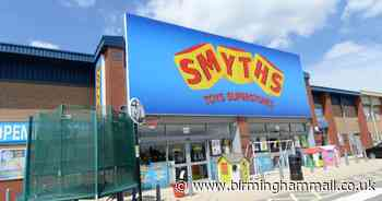 Smyths Toys reopens UK stores for Click and Collect - full list - Birmingham Live