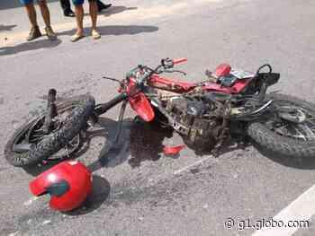 Acidente mata filho e deixa mãe gravemente ferida em Juazeiro do Norte, no Ceará - G1