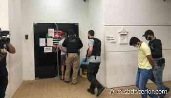 Operação Furo Final: Polícia Civil prende 'mentor' de associação criminosa em Birigui - SBT Interior