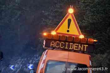 Monistrol-sur-Loire : perte de contrôle sur la RN88 au milieu de la nuit - La Commère 43