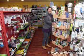 Monistrol-sur-Loire : après 13 ans, elle décide de fermer son magasin de loisirs créatifs - La Commère 43