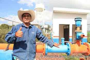 Más y mejores servicios de agua en Abasolo y Pénjamo - Noticias Gobierno del Estado de Guanajuato
