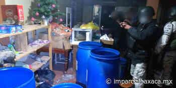 Aseguran drogas y cartuchos en Tlaxiaco - El Imparcial de Oaxaca