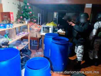 Aseguran droga y municiones durante cateo en Tlaxiaco - Diario Marca de Oaxaca