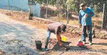Tepalcingo mantiene obras durante la contingencia - Diario de Morelos