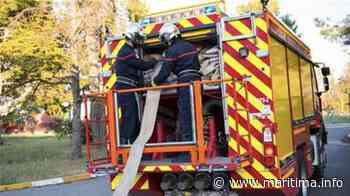 Gignac la Nerthe - Faits-divers - Gignac: quarante pompiers interviennent sur un feu d'entrepôt - Maritima.Info - Maritima.info