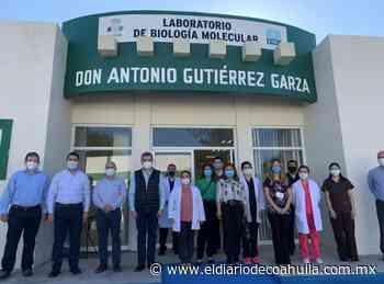 Entrega laboratorio en Nueva Rosita - El Diario de Coahuila