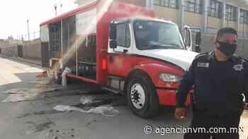 Recuperan en Zumpango camión repartidor de refrescos reportado como robado - Agencia NVM