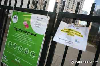 Coronavirus : Courbevoie et Puteaux ferment les jardins publics - Defense-92.fr - Defense-92.fr - Vivez La Défense