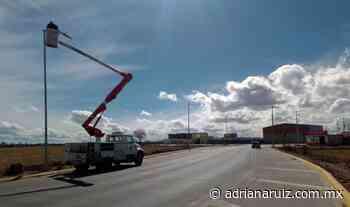 #Cuauhtemoc | Ya van 700 de mil lámparas led instaladas en la ciudad: Servicios Públicos - Adriana Ruiz