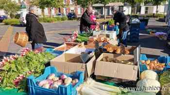 Tergnier : coronavirus/commerce, balade au marché de la place Herment - L'Union