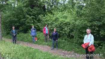 Réouverture paisible de la forêt domaniale de Vimy - La Voix du Nord