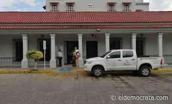 Continúan labores de sanitización en Santiago de Tuxtla - El Demócrata