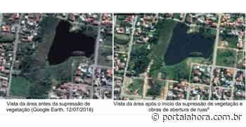 Justiça paralisa obras supostamente irregulares de urbanização em lagoa de Garopaba e estipula multa para prefeito em caso de descumprimento - Portal AHora