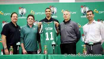 Danny Ainge: Celtics would've drafted Jayson Tatum even without workout