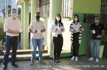CSN Mineração realiza doação de máscaras em Lafaiete e Congonhas - Correio Online - Jornal Correio da Cidade