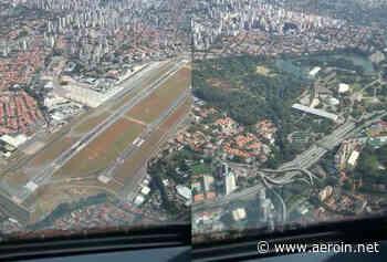 """Jato da LATAM faz raro """"voo panorâmico"""" sobre São Paulo e Congonhas - AEROIN"""