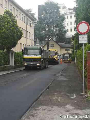 Cantieri, l'emergenza non ha fermato i lavori a Castellanza - Varese Settegiorni