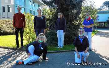 Gailingen/Engen: Schülerfirma des Gymnasiums Engen entwickelt Gesichtsschilde und produziert diese für Pflegeheime und weitere Einrichtungen - SÜDKURIER Online